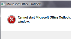 Cannot-start-Outlook