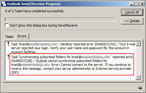 fix outlook