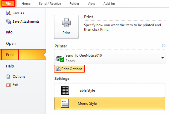 Print all Attachments in Outlook Email without Opening